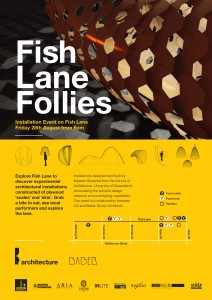 UQ Fish Lane Follies  high quality print
